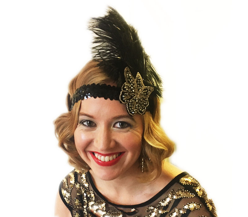 1920s vintage hair and makeup by FTMak