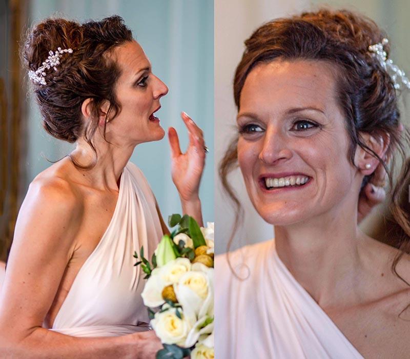 Celine Wedding Makeup and Hair 2018