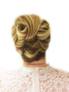 Classic vintage inspired up do