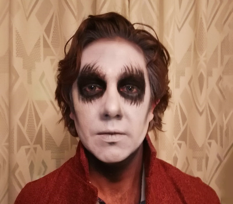 Ghost makeup halloween at ftmakeup london