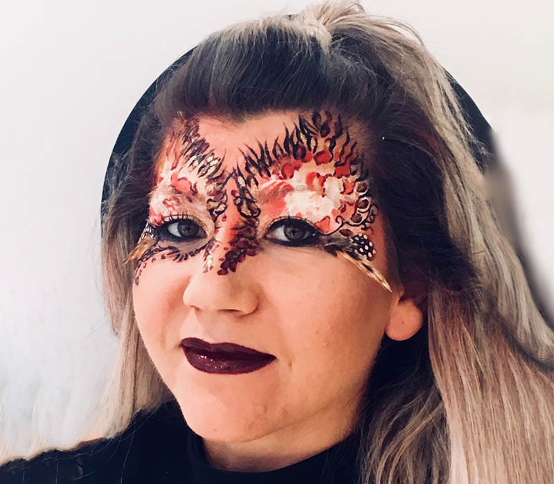 Mask creative makeup at ftmakeup London