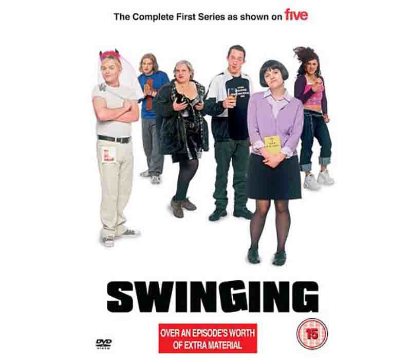 SWINGING tv comedy show on channel 5 assistant makeup artist