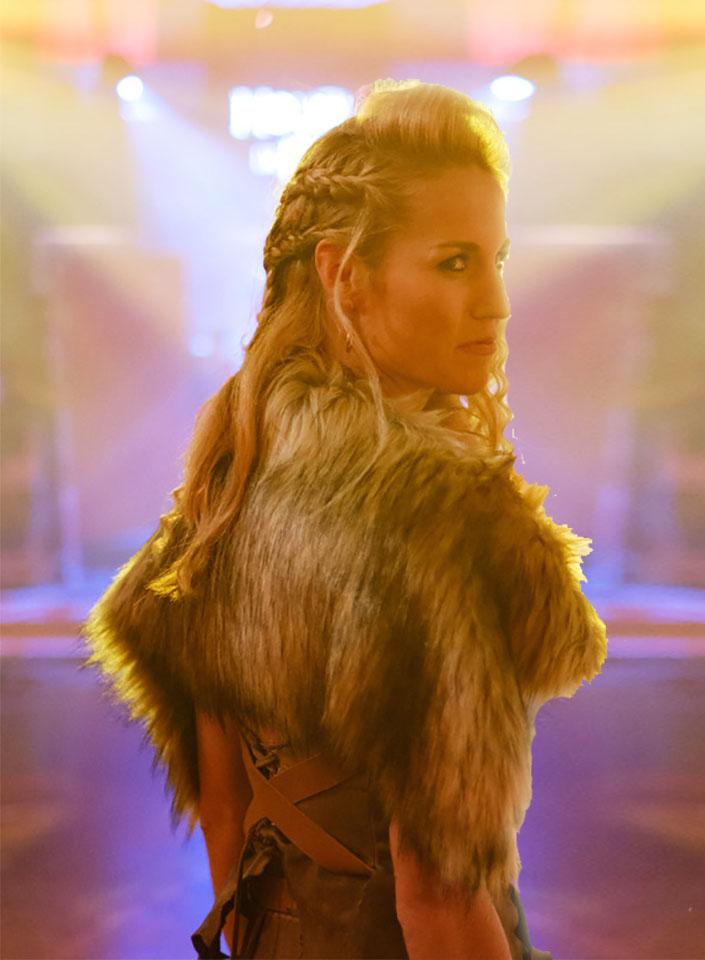 Viking creative hair at FTMakeup London