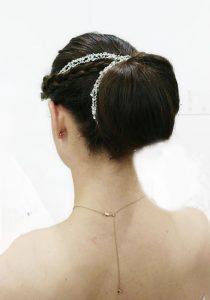 Vintage Bridal hair up