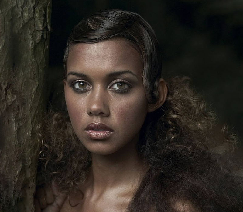 vintage 1920s women of colour natural look at ftmakeup london