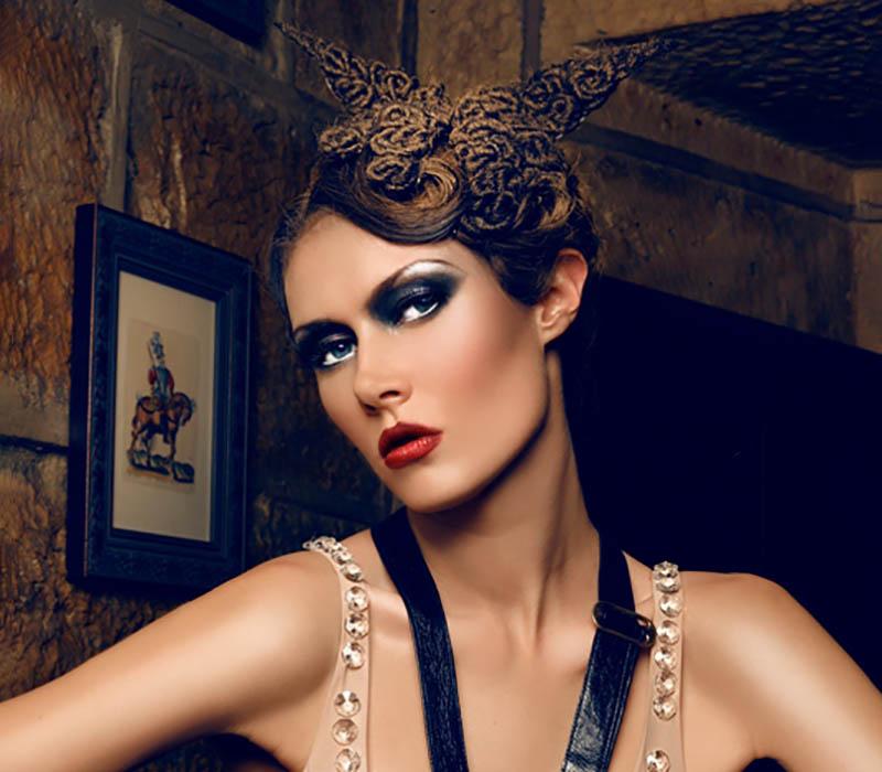 vintage glam makeup at ftmakeup london