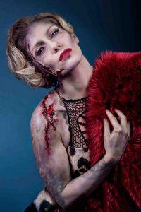 Dead Marilyn Halloween SFX makeup