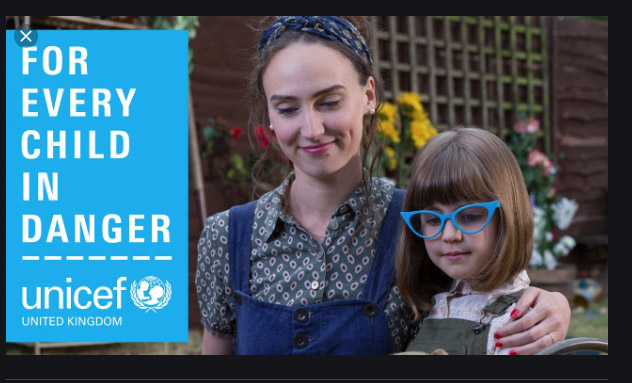 Unicef for every child in danger uk mkp by fanny