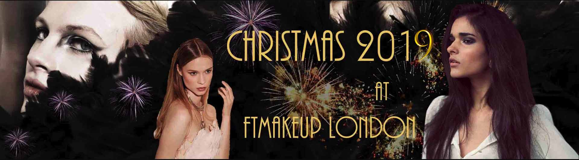 Freelance Christmas makeup artist for events and New Year