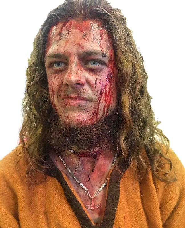 Amor Amarth Viking Shoot 2019 sfx makeup