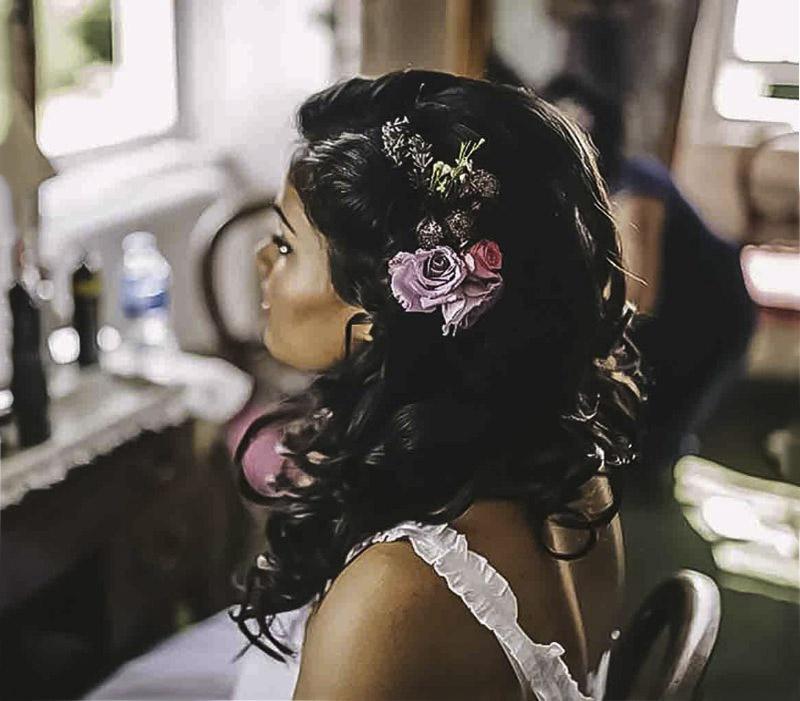 Asian bridal Makeup and hair contemporay