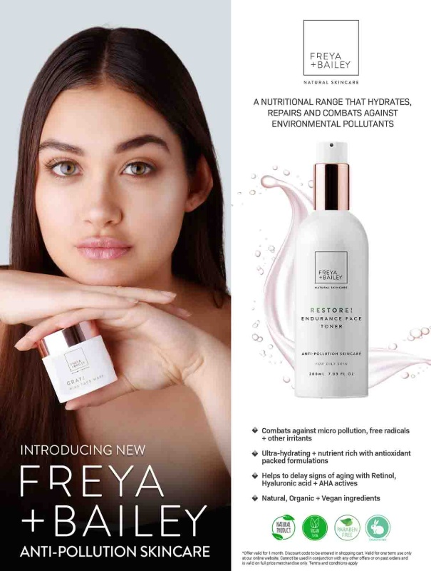Freya and Bailey skincare