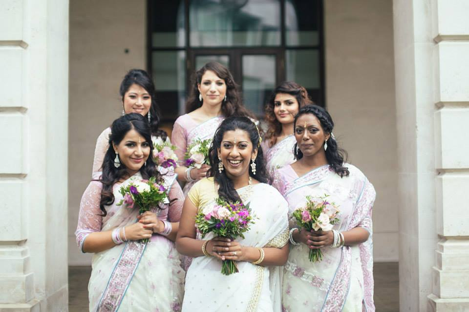 Indian Wedding makeup and hair by London artist FT3