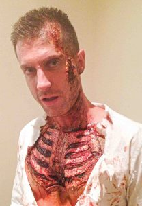 SFX-chest-cavity-with-blood-at-FTMakeup-London