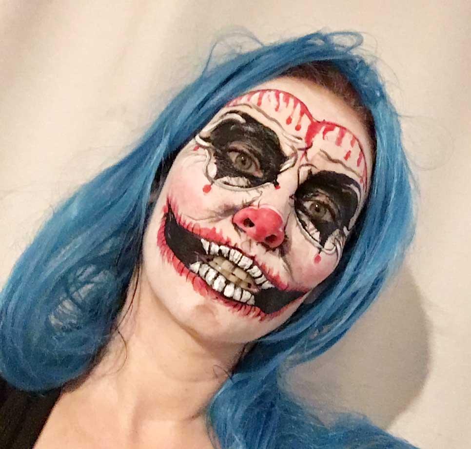 Scary Killer Clown at FTMakeup London 2019
