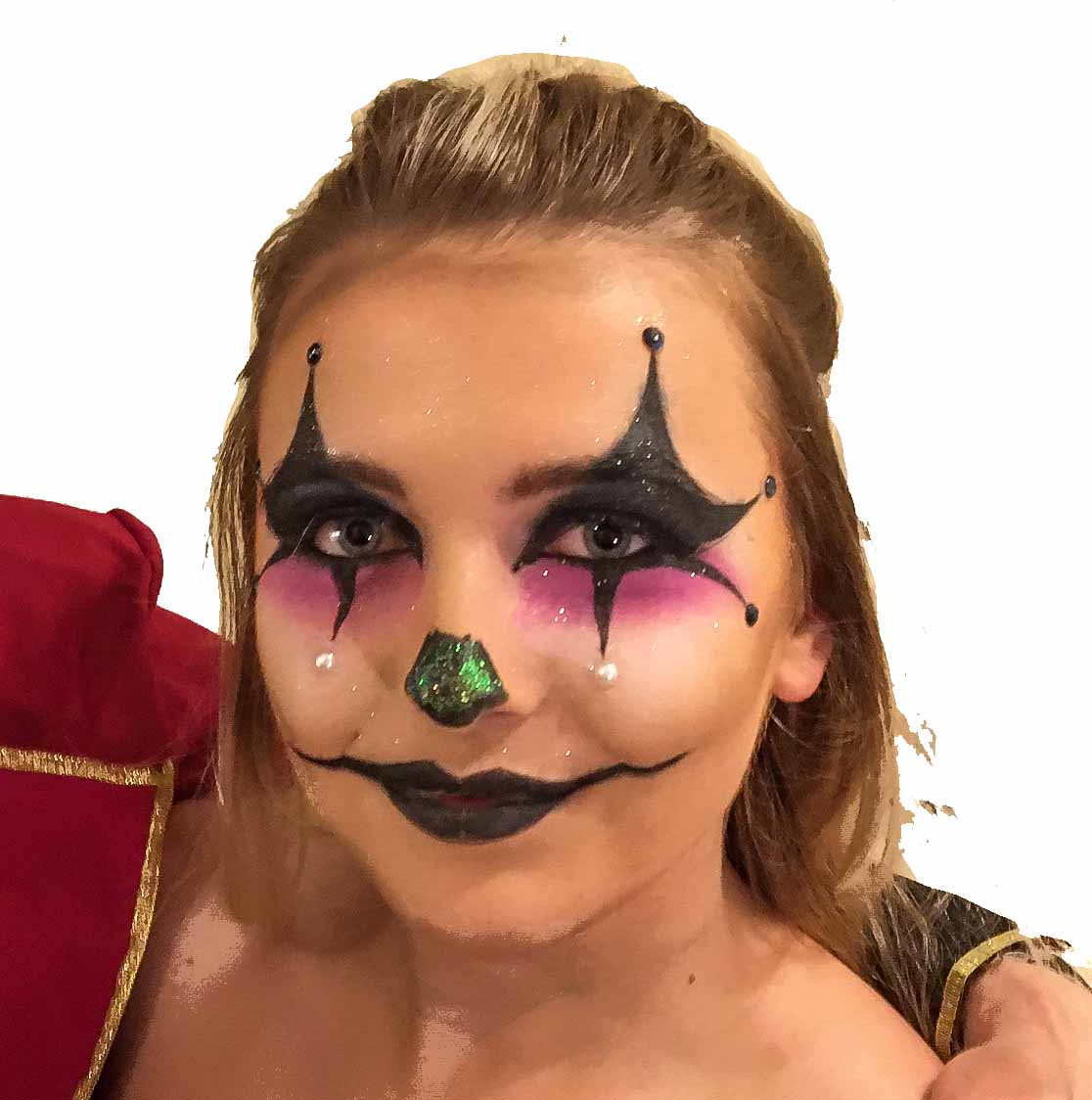 Sexy Clown halloween 2019 face painting