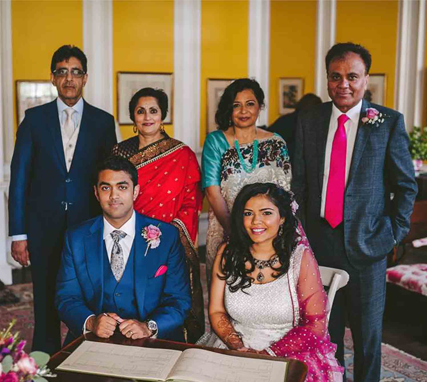 contemporary hair & mkp 4 Indian weddings by FT makeup London