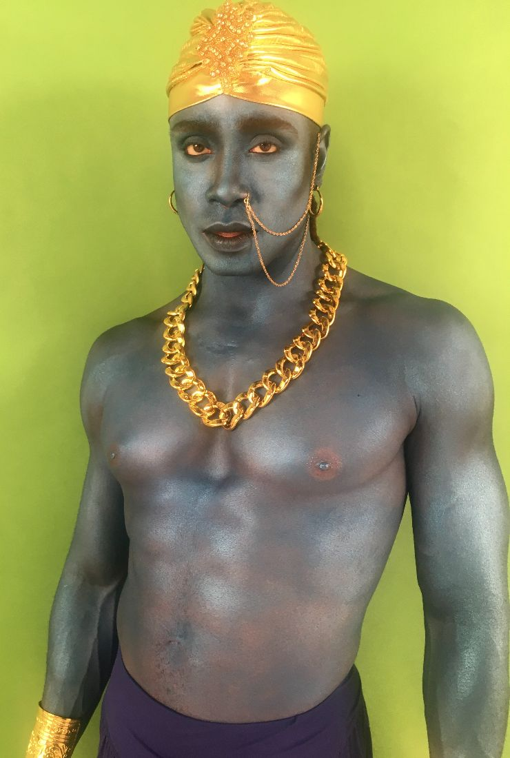 Genie body painting at FTMakeup London copy