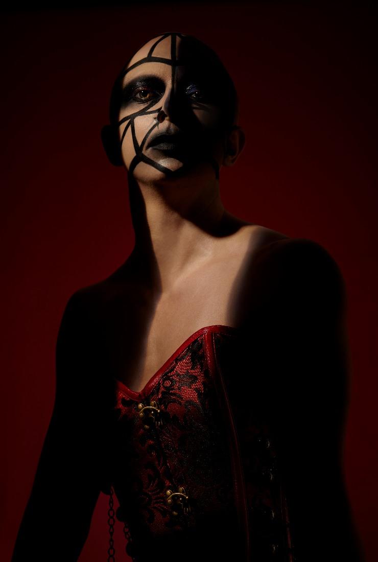 Hellraiser halloween makeup by FTMakeup London2